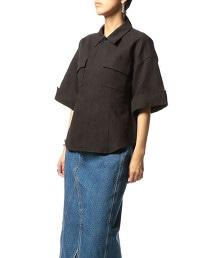 ASTRAET 正面口袋 短袖襯衫†