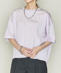 <ASTRAET>背部摺線 圓領罩衫