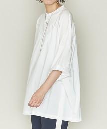 <ASTRAET>圓領 7分袖 BIG T恤