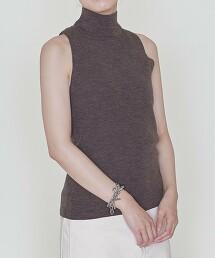 <ASTRAET>W 16G 高領 無袖針織衫