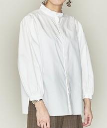 <ASTRAET>立領 澎袖套衫