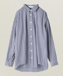 ASTRAET 直條紋 寬版 襯衫