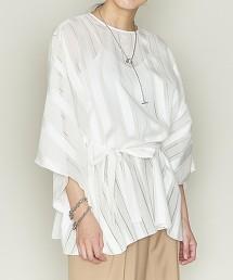 <ASTRAET>透膚 直條紋 套衫