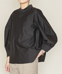 <ASTRAET>純棉 立領 泡泡袖罩衫 日本製