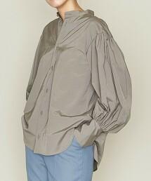 <ASTRAET>泡泡袖 立領罩衫 日本製