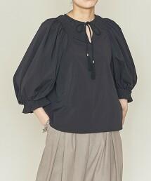 <ASTRAET>PE 5分袖 泡泡袖罩衫 日本製
