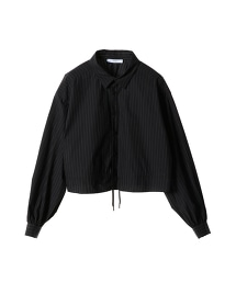 ASTRAET 直條紋 抽繩式 罩衫