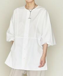 <ASTRAET>暗門襟 拼接罩衫 日本製