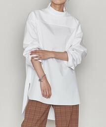 <ASTRAET>高領 後釦 套頭衫 日本製