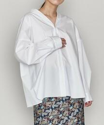 <ASTRAET>V領 2WAY 罩衫 日本製