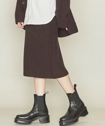 <ASTRAET>5G 羅紋 針織窄裙