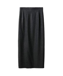 ASTRAET 平紋緯編布 迷嬉 長窄裙