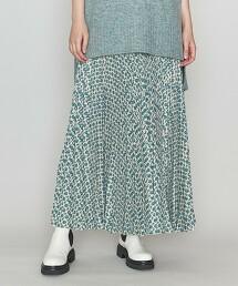 <ASTRAET>小紋印花 褶裙 日本製
