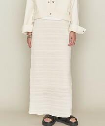 <ASTRAET>橫條紋 長裙