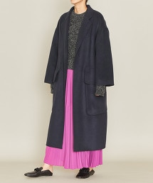 ASTRAET 雙面縫製  附腰帶 一片式大衣