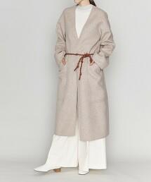 <ASTRAET>W/N/PE 睡袍 雙層織大衣†