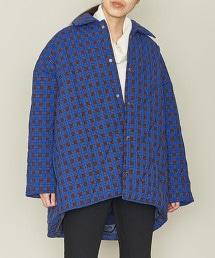 ASTRAET 格紋寬版绗縫外套