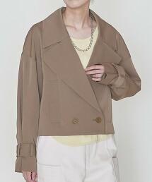 <ASTRAET>軋別丁 短版 戰壕風衣 日本製