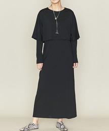 <ASTRAET>層次感 圓領 洋裝 日本製