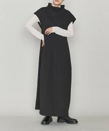 <ASTRAET>棉質 內裡毛 瓶口領 洋裝 日本製