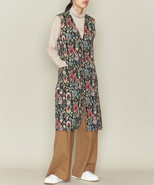ASTRAET 花朵V領洋裝