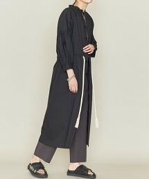 <ASTRAET>細褶 腰間抽繩 洋裝 日本製