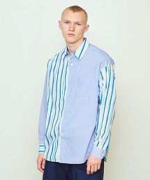 UNITED ARROWS & SONS STRIPE KINGSROAD SHIRT