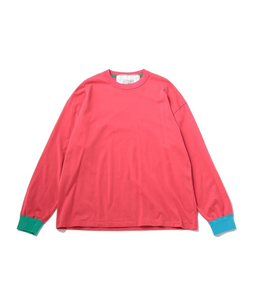 UNITED ARROWS & SONS COLOR CUFF T-SHIRT OUTLET商品