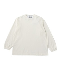 UNITED ARROWS & SONS CTN BIG TEE L/SL