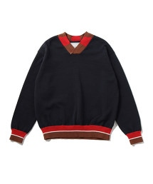 UNITED ARROWS & SONS CRICKET SWEATER
