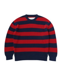 UNITED ARROWS & SONS STRIPE CREW NECK OUTLET商品