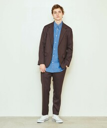 <UNITED ARROWS & SONS> COLOR TROUSERS/長褲† 日本製