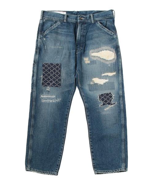 UNITED ARROWS & SONS SASHIKO DENIM 刺子織 牛仔褲