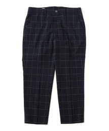 UNITED ARROWS & SONS TR CHECK PANTS