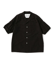 UNITED ARROWS & SONS DYED BOWLING SHIRT