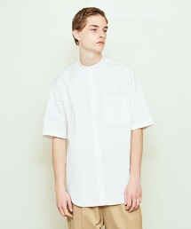 UNITED ARROWS & SONS BAND C SS SHIRT 襯衫 日本製