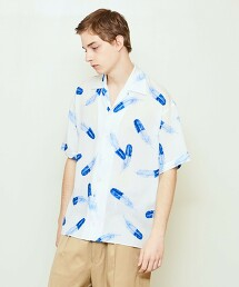 UNITED ARROWS & SONS EAGLE SS SHIRT 襯衫 日本製