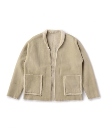 UNITED ARROWS & SONS MOUTON TOMMY羊毛外套