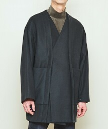 UNITED ARROWS & SONS EAST MEETS WEST COAT 大衣 日本製