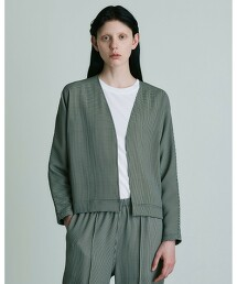 UNITED ARROWS & SONS by DAISUKE OBANA WOMEN II/CHECK CARDIGAN 對襟外套 日本製