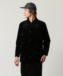 UNITED ARROWS & SONS FAKE FUR RND COVERALL