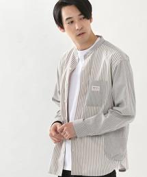 SMITH'S 特別訂製 立領 長袖襯衫#