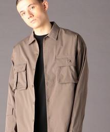 TC彈性高密度平織 UTILITY CPO襯衫式外套(UTILITY LINE)#