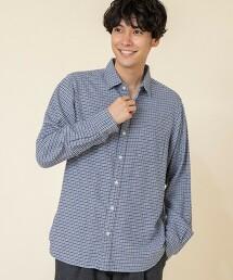 德克薩斯棉 狩獵俱樂部格紋 基本款襯衫 (標準領)