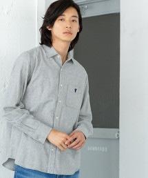 維也拉素色法蘭絨襯衫