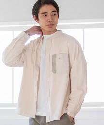 SMITH'S特別訂製牛津 立領工裝襯衫#