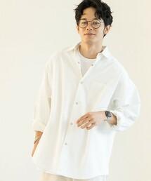 牛津布 標準領襯衫(白色)