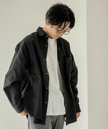 牛津布 標準領襯衫(黑、深藍)