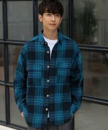 棉嫘縈 寬版 CPO襯衫
