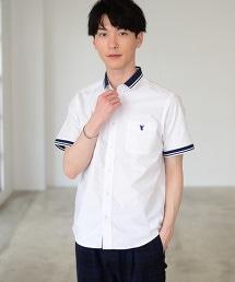 羅紋線條牛津襯衫